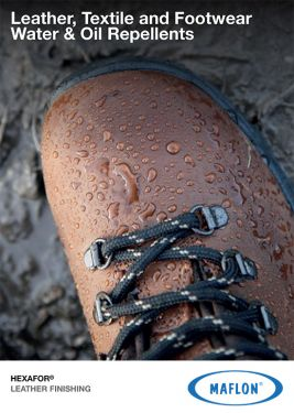 Leather, Textile and Footwear Water & Oil Repellents